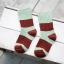 ถุงเท้าสั้น สีเขียวแดง แพ็ค 12 คู่ ไซส์ ประมาณ 6-8 ปี thumbnail 1