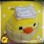 ตุ๊กตากุ๊กไก่โระอิโทะริแช่ออนเซน Rilakkuma Kiiroitori plush doll Onsen series thumbnail 2