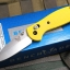 Benchmade Mini Griptilian Yellow Handle BM556YEL
