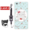 เคส OPPO Mirror 5 Lite / Mirror 5 Lite 4G ซิลิโคน soft case สกรีนลายการ์ตูนพร้อมแหวนและสายคล้อง (รูปแบบแล้วแต่ร้านจีนแถมมา) น่ารักมาก ราคาถูก thumbnail 5