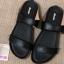 องเท้าสวมบาจา พื้นยางแก้ว สีดำ thumbnail 1