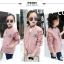 เสื้อแจ็คเก็ตสีชมพู [size 5y-6y-7y-8y-9y-10y] thumbnail 5