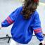 เสื้อ สีน้ำเงิน แพ็ค 5 ชุด ไซส์ 120-130-140-150-160 (เลือกไซส์ได้) thumbnail 4