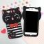 เคสซิลิโคน 3Dแมวดำใส่เสื้อขวาง ไอโฟน 6plus/6splus 5.5 นิ้ว thumbnail 1