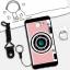 เคส Samsung A9 Pro ซิลิโคน soft case สกรีนลายการ์ตูนน่ารักๆ พร้อมสายคล้องและแหวน ราคาถูก thumbnail 14