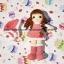 ตุ๊กตาถักไหมพรม คนชุดขนแกะ thumbnail 2