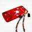 เคส ไอโฟน 6 Plus/6s plus 5.5 นิ้ว แดงกำมะหยี่พิมพ์ลายมีสายห้อยดอกไม้ thumbnail 11