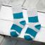 ถุงเท้าสั้น สีเทาฟ้า แพ็ค 12 คู่ ไซส์ ประมาณ 3-5 ปี thumbnail 1