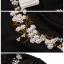 เสื้อยืดสีดำปักลายรอบคอเสื้อ แบบ Jungkook thumbnail 4