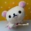 ตุ๊กตาหมีน้อยโครีแลคคุมะนอนคว่ำ Korilakkuma sleeply plush dolls thumbnail 1