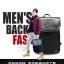 กระเป๋าเป้สะพายหนังผสมไนลอน แบบ หยางหยาง (สีดำ) thumbnail 7
