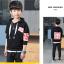 เสื้อคลุม สีดำ แพ็ค 5 ชุด ไซส์ 120-130-140-150-160 (เลือกไซส์ได้) thumbnail 3