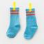 ถุงเท้ายาว สีฟ้า แพ็ค 12 คู่ ไซส์ L ประมาณ 6-8 ปี thumbnail 1