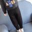 กางเกง สีดำ แพ็ค 5ชุด ไซส์ 100-110-120-130-140 thumbnail 3