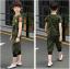 เสื้อ+กางเกง ลายพราง แพ็ค 5 ชุด ไซส์ 120-130-140-150-160 (เลือกไซส์ได้) thumbnail 5