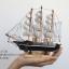 โมเดลเรือสำเภาไม้ขนาด 8 นิ้ว แต่งโต๊ะทำงาน สำหรับการตกแต่งบ้านและร้านค้าทั่วไป No.1 thumbnail 2