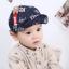 หมวก สีน้ำเงินเข้ม แพ็ค 5ใบ ไซส์รอบศรีษะ 48cm thumbnail 3