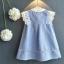 เสื้อ สีฟ้า แพ็ค 5ชุด ไซส์ 100-110-120-130-140 thumbnail 2