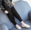 กางเกง สีดำ แพ็ค 5ชุด ไซส์ 100-110-120-130-140 thumbnail 1