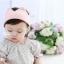 หมวกมงกุฏไหมพรมสีชมพู แพ็ค 5 ชิ้น thumbnail 1