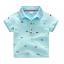 เสื้อ สีฟ้า แพ็ค 5 ชุด ไซส์ 100-110-120-130-140 thumbnail 1