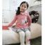 เลคกิ้ง สีขาว แพ็ค 5ชุด ไซส์ 100-110-120-130-140 thumbnail 3