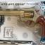ปืนแก๊ปลูกโม่ยาว เด็กเล่น Cap Gun Super Gun สีทอง โม่ 8 นัด แถมลูกแก๊ป thumbnail 1