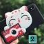 Iphone X เคสtpu 3D แมวถือกล้องถ่ายรูป thumbnail 2