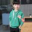 เสื้อคลุม สีเขียว แพ็ค 5 ชุด ไซส์ 120-130-140-150-160 (เลือกไซส์ได้) thumbnail 1