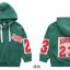 เสื้อคลุม สีเขียว แพ็ค 5 ชุด ไซส์ 120-130-140-150-160 (เลือกไซส์ได้) thumbnail 4