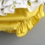 ชุดเซตเสื้อสีขาวลายเลมอน+กางเกงใน แพ็ค 4 ชุด [size 6m-1y-18m-2y] thumbnail 7