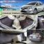 พรม 6D Toyota Vios 2012 สีดำ แดง + ท้าย thumbnail 1