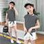 เสื้อ+กางเกง แพ็ค 5 ชุด ไซส์ 120-130-140-150-160 (เลือกไซส์ได้) thumbnail 1