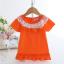 เสื้อ สีส้ม แพ็ค 5ชุด ไซส์ 90-100-110-120-130 thumbnail 1