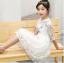 ชุดกระโปรง สีขาว แพ็ค 5 ชุด ไซส์ 120-130-140-150-160 (เลือกไซส์ได้) thumbnail 4