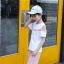 เสื้อ+กางเกง สีชมพู แพ็ค 6 ชุด ไซส์ 110-120-130-140-150-160 (เลือกไซส์ได้) thumbnail 5