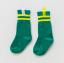 ถุงเท้ายาว สีเขียว แพ็ค 12 คู่ ไซส์ S ประมาณ 1-3 ปี thumbnail 1