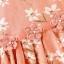 ชุดเดรสแขนกุดลายดอกไม้สีโอลโรส แพ็ค 4 ชุด [size 6m-1y-2y-3y] thumbnail 3