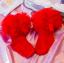 ถุงเท้าสั่ง สีแดง แพ็ค 6 คู่ ไซส์ M (ประมาณ 3-5 ปี) thumbnail 1