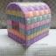 กล่องทิชชูแผ่นเฟรมสีพาสเทล ทรงตู้ไปรษณีย์ (ทำสำเร็จ) thumbnail 1