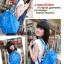 กระเป๋าแฟชั่น(สีน้ำเงิน)MCM thumbnail 2