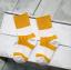 ถุงเท้าสั้น สีเหลืองขาว แพ็ค 12 คู่ ไซส์ ประมาณ 1-3 ปี thumbnail 2