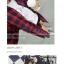 เสื้อคลุมลายสก็อตสีแดง BTS thumbnail 2