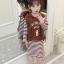 เสื้อกั๊ก+เสื้อตัวใน สีน้ำตาล แพ็ค 5 ชุด ไซส์ 120-130-140-150-160 (เลือกไซส์ได้) thumbnail 1