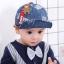 หมวก สีฟ้าอ่อน แพ็ค 5ใบ ไซส์รอบศรีษะ 48cm thumbnail 3