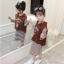เสื้อกั๊ก+เสื้อตัวใน สีน้ำตาล แพ็ค 5 ชุด ไซส์ 120-130-140-150-160 (เลือกไซส์ได้) thumbnail 4