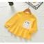 เสื้อแขนยาวสีเหลืองลายน้องแมว [size 2y-3y-4y-5y] thumbnail 1