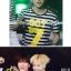 เสื้อยืดลายขวาง GOT7 - Love Train thumbnail 2