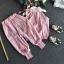เสื้อ+กางเกง สีชมพู แพ็ค 5ชุด ไซส์ 100-110-120-130-140 thumbnail 4