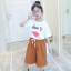 เสื้อ+กางเกง สีขาว แพ็ค 6 ชุด ไซส์ 110-120-130-140-150-160 thumbnail 3